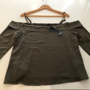 NWT COTTON ON Darcy Cold Shoulder top